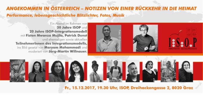 Angekommen in Oesterreich – Notizen von einer Rueckkehr in die Heimat