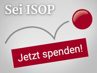 Sei ISOP: Online spenden